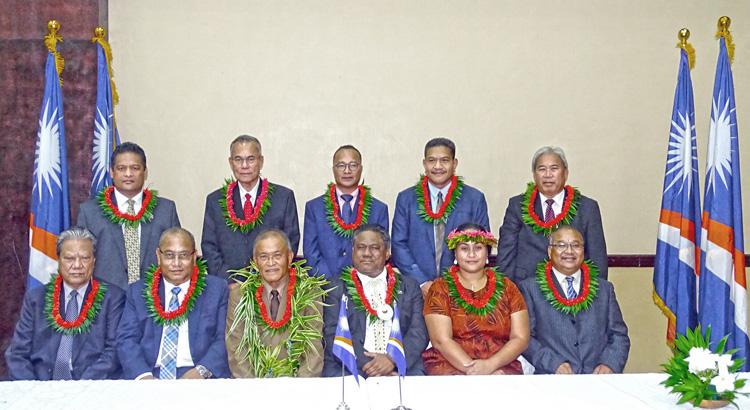 New RMI leaders sworn in