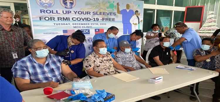 RMI launches Covid vaccines