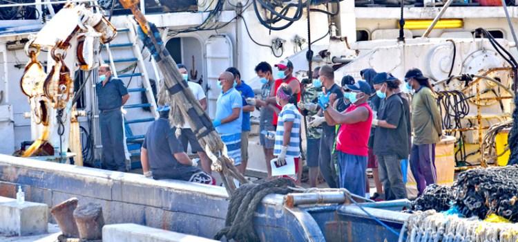 Marshalls vaccinates fishermen