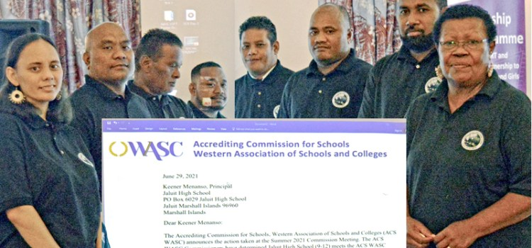 First outer island schools accredited