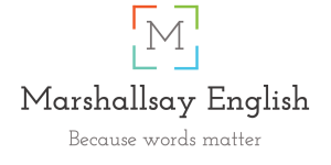 Marshallsay English | Because words matter