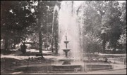 Original 1889 Fountain awaiting restoration