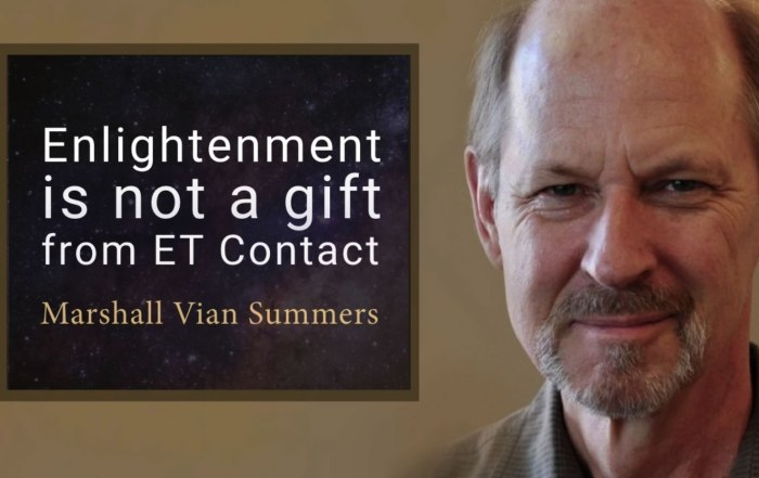 enlightenment is not a gift