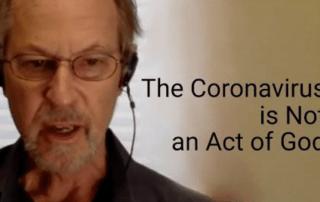 Coronavirus is not an act of god