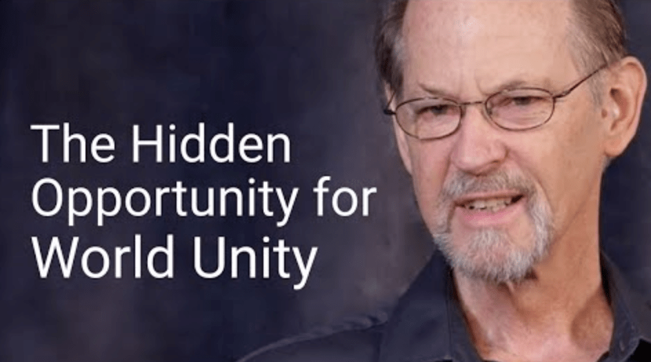 opportunity for world unity