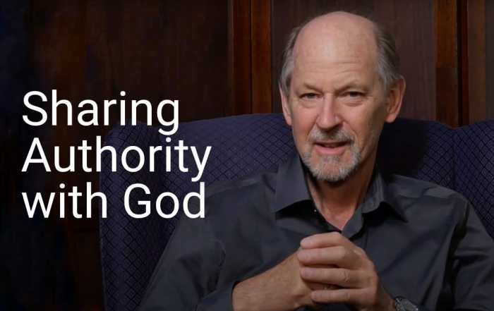 Sharing authority with God
