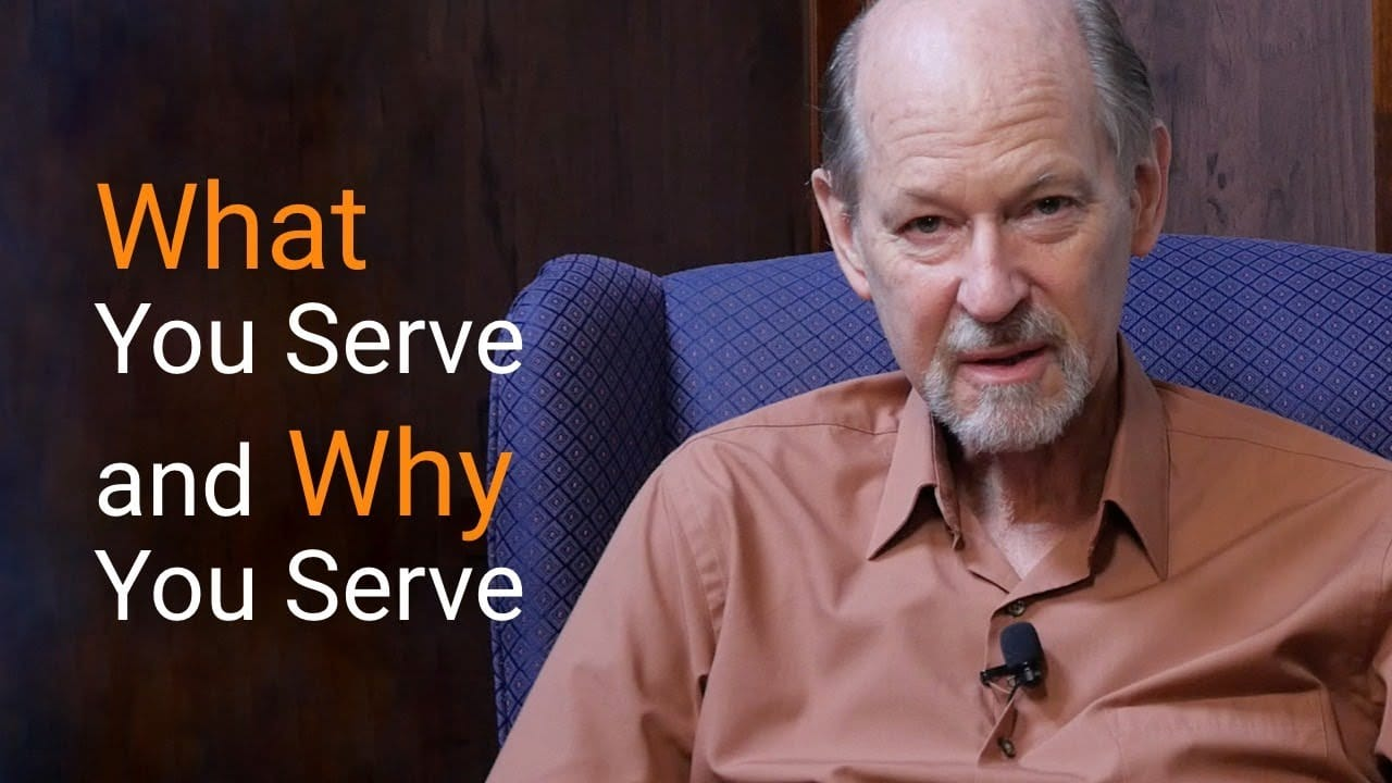 what you serve is all that matters