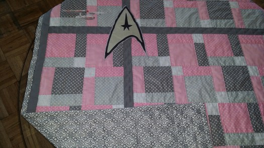 Star Trek Quilt Interesting Times 2