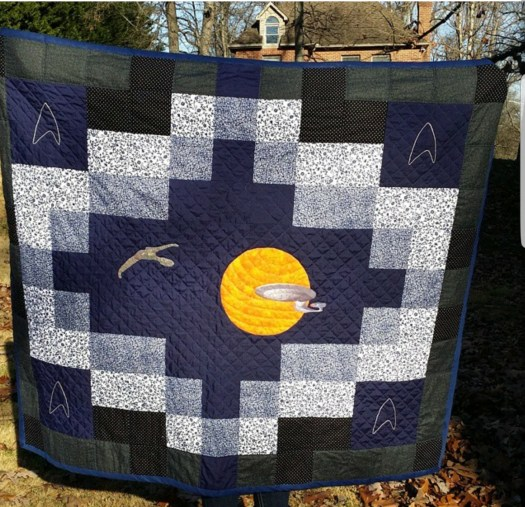 Star Trek Quilt -  Ronnie