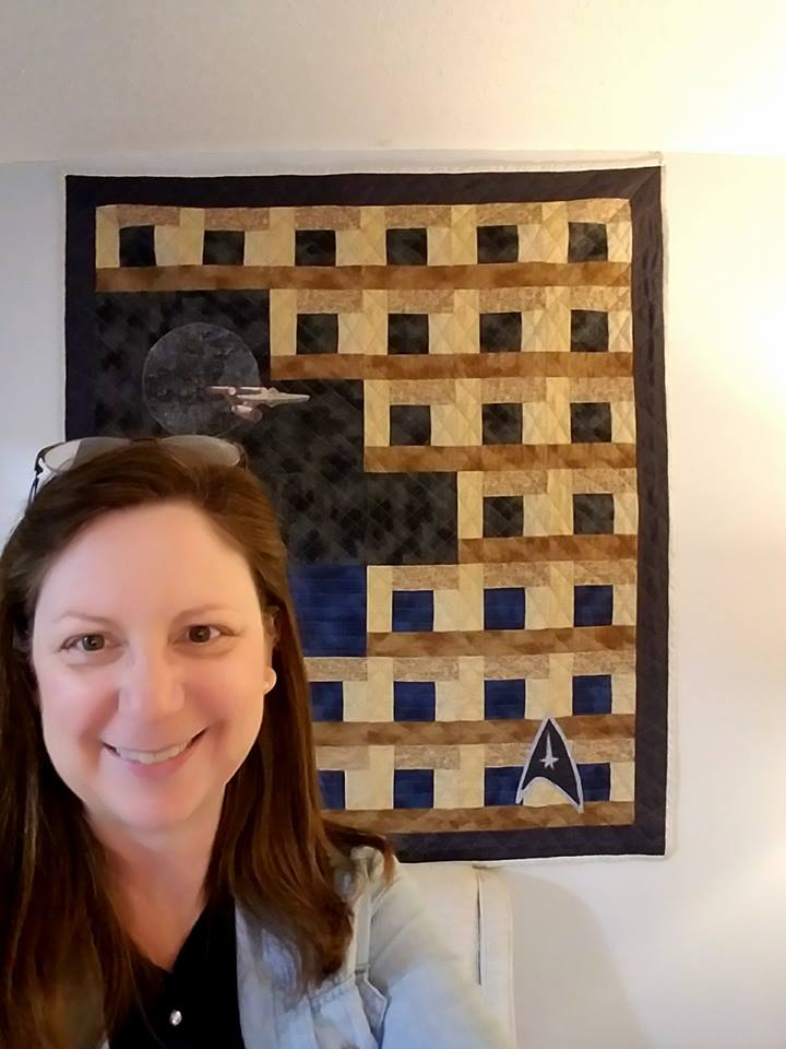 Star Trek Quilt for Dad 10