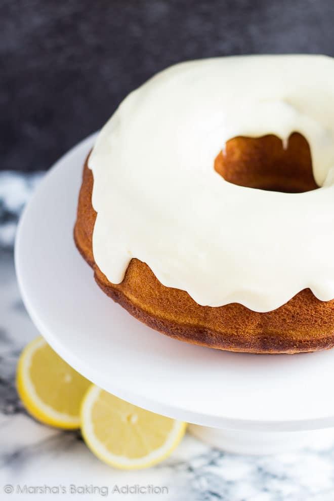 Lemon Bundt Cake | Marsha's Baking Addiction