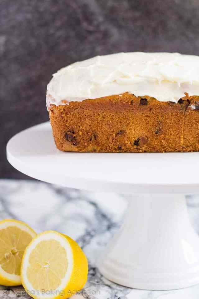 Chocolate Chip Lemon Bread | Marsha's Baking Addiction