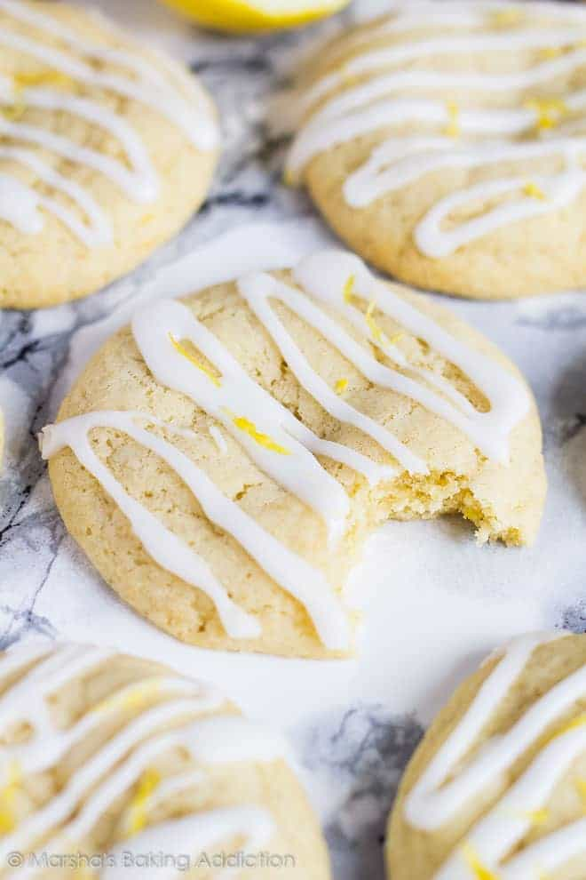 Soft and Chewy Lemon Cream Cheese Cookies | Marsha's Baking Addiction
