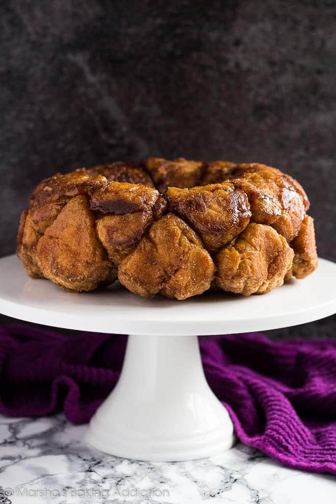 Monkey Bread | Marsha's Baking Addiction @marshasbakeblog