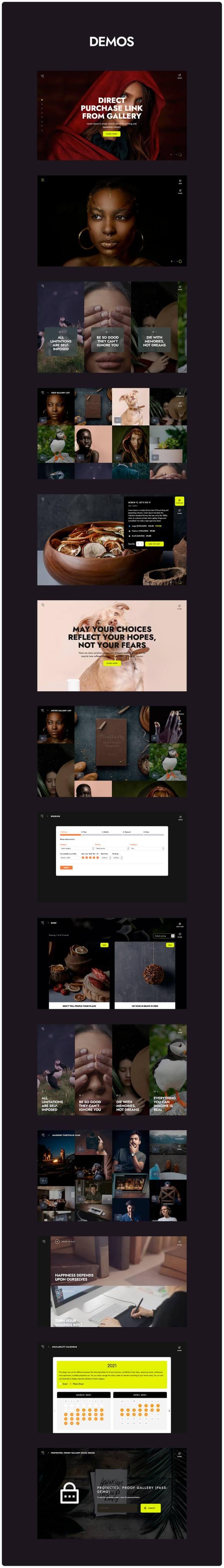 Marshmallow - Photographer WordPress Theme - 2