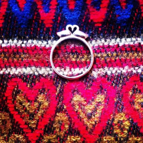 Swan ring - Oliver Bonas