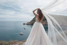 فستان زفاف لجسم التفاحة والمستطيل