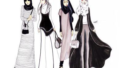 تنسيق الحجاب مع الملابس