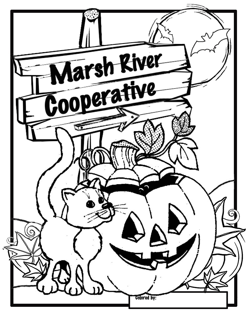 Pumpkin Carving and Coloring Contest Reminder