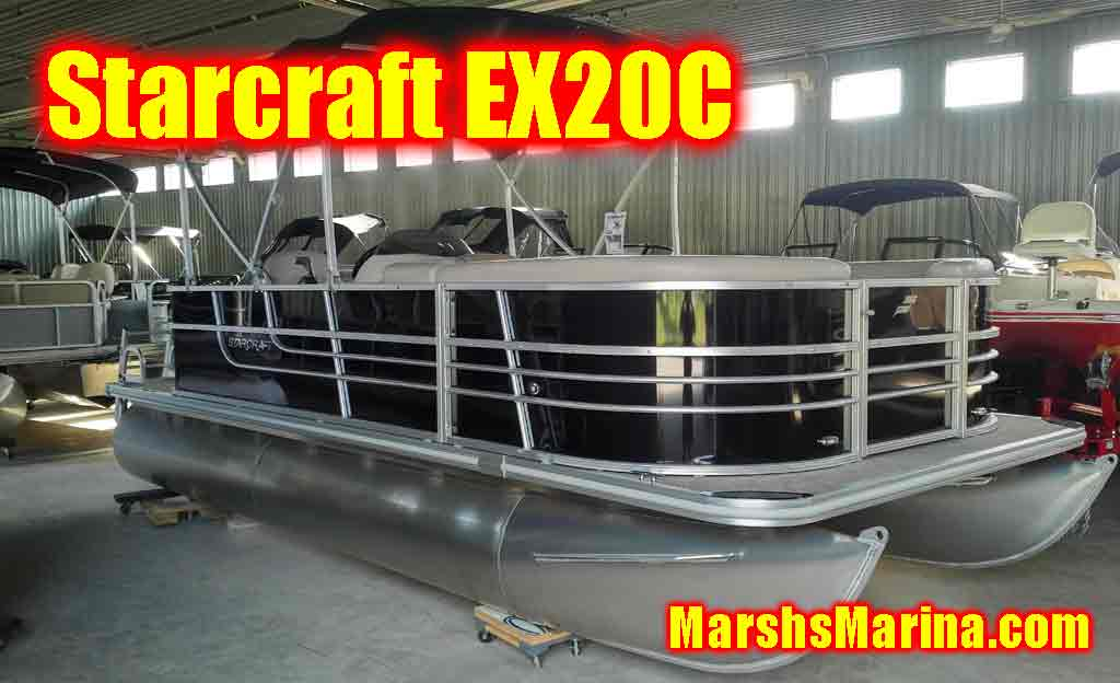 Starcraft Pontoon Boats For Sale in Ontario  MarshsMarinacom