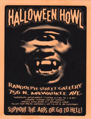 Halloween Howl, Flyer, 1997