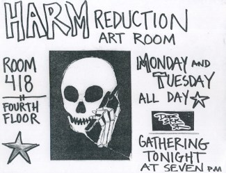 Harm Reduction Art Room, 2003