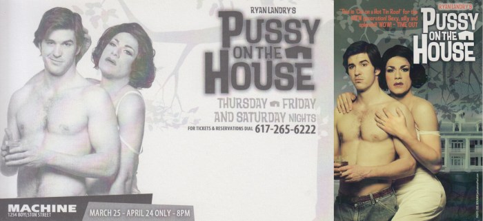 Pussy On The House, 2004, Photo: Joel Benjamin