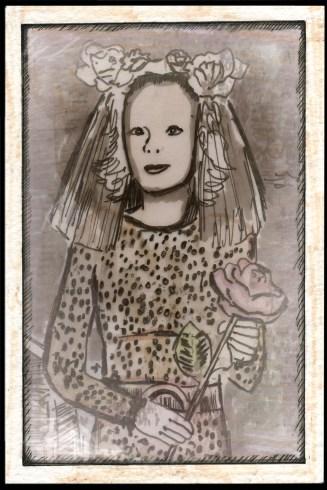 Jocelyn Wilenstein, 2009, Drawing: Marsian De Lellis