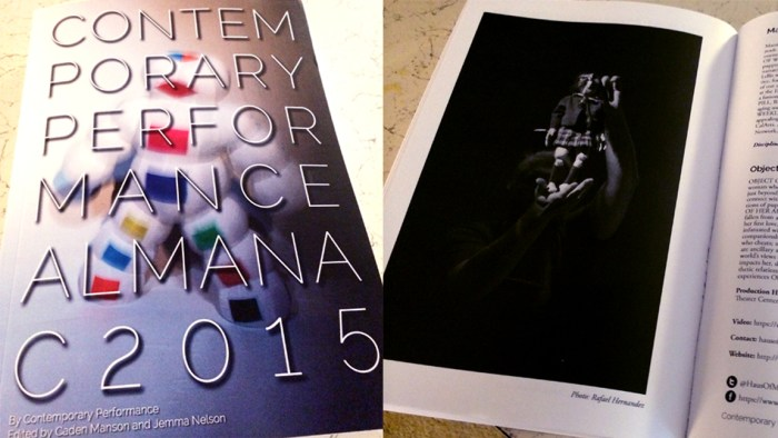 2015 Contemporary Performance Almanac