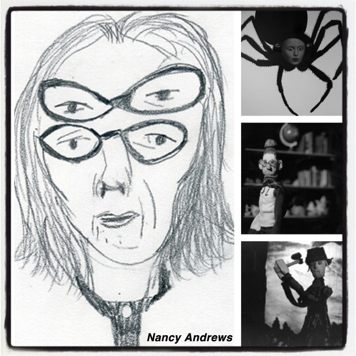 Images from Nancy's website: www.nancyandrews.net