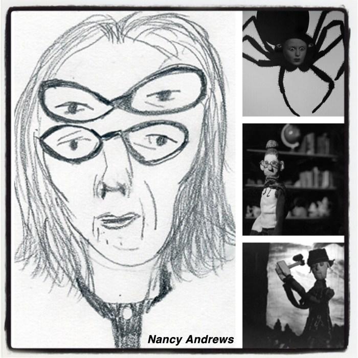 Images from Nancy's website: www.nancyandrews.net