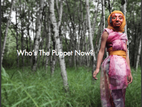 """Who's The Puppet Now?"", CAOS (Calgary Animated Objects Society), 2015"