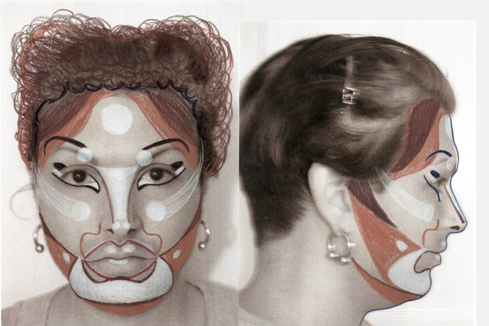 Makeupdesign-2up-15x10-72dpi Lee Vargas Perez, Bride of Wildenstein Make Up Design, 2010