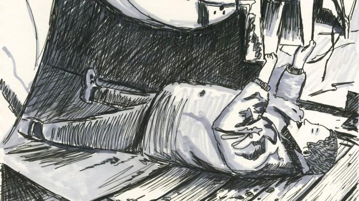 Marsian De Lellis, 2013 drawing
