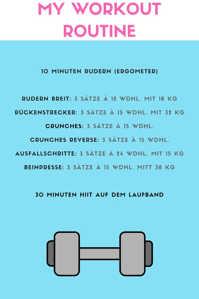 My Workout-Routine