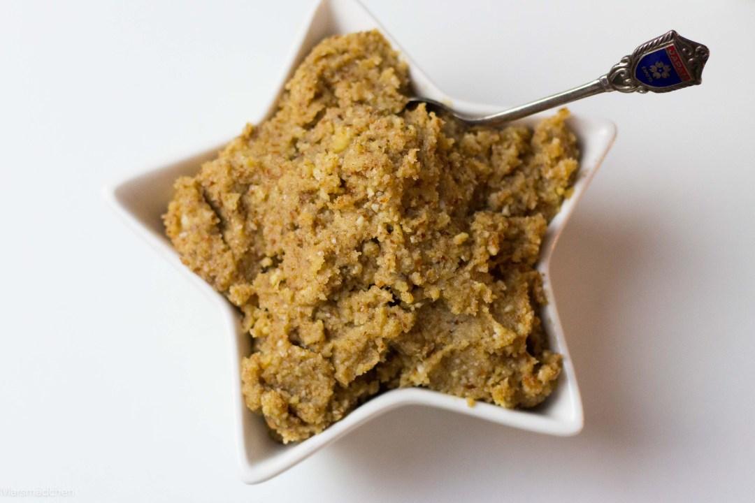 glutenfreier Spekulatius Cookie Dough