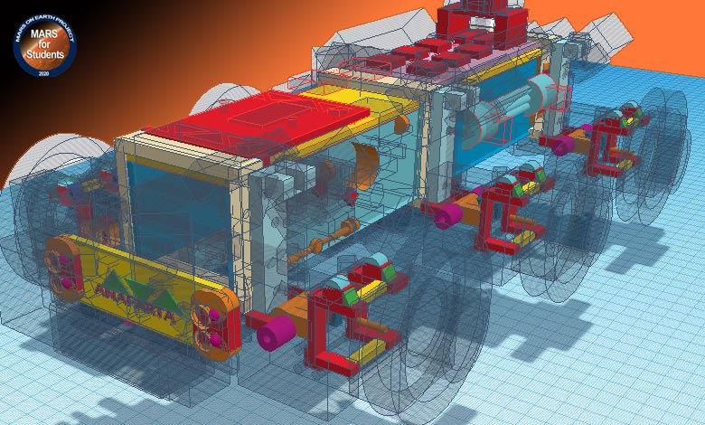 Mars Rover Model Prototipi-1 - Dünyadaki Mars Projesi