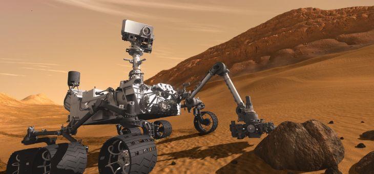 NASA'dan Yeni Araç Mars Rover