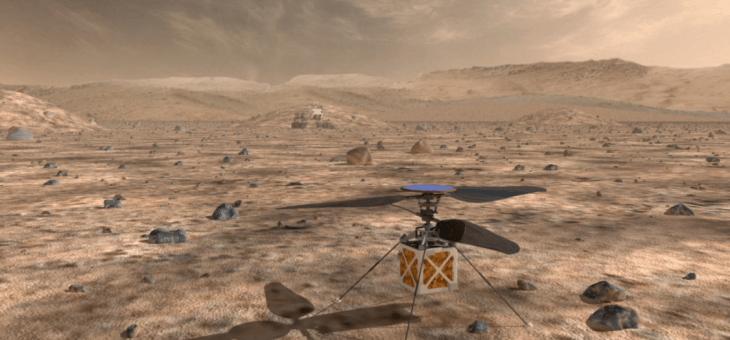 NASA'dan Mars'a Özel Drone