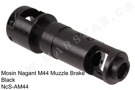 NcStar Mosin Nagant Rifle M44 Muzzle Break Bolt on Black AM44