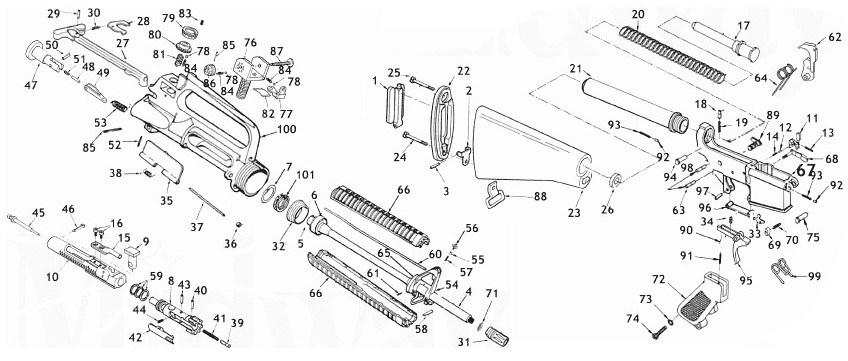 Rifle Parts