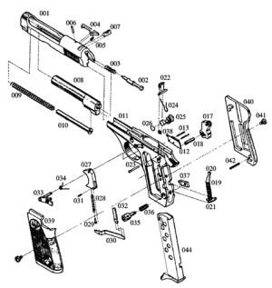 Beretta Model 70 Parts