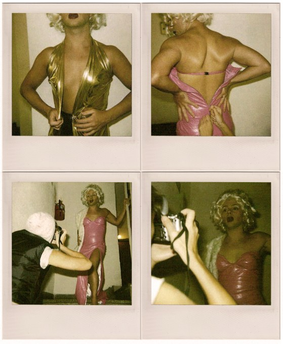 Polaroids de Tatiana Paul, 2008.