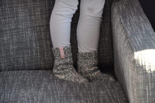 De hele dag hadden we heerlijk warme voeten!