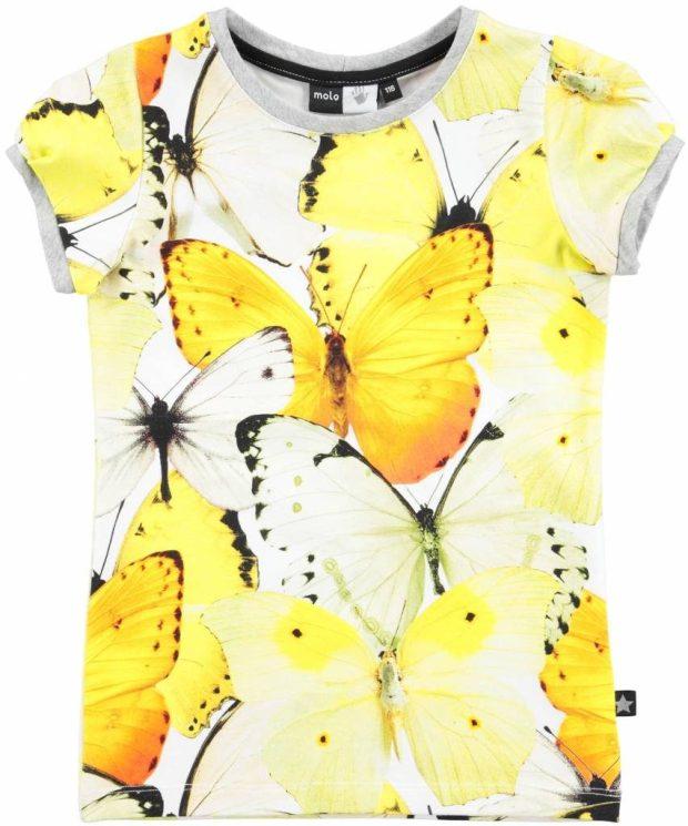 Ik shopte dit vlindershirt van Molo