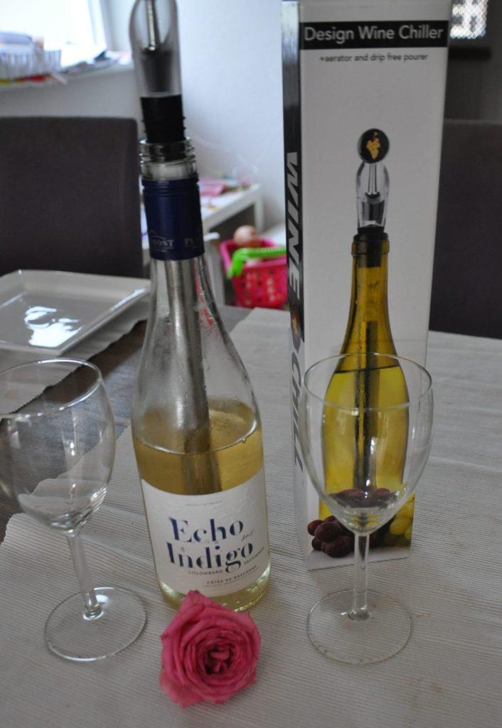 De winechill uitproberen, heel vervelend... NOT :-)