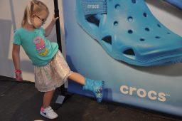 crocs blauw