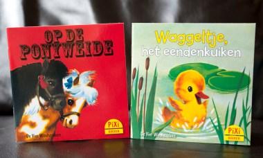 twee oude boekjes
