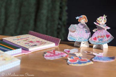 paper dolls kit tiger tribe