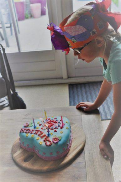 lego verjaardag taart